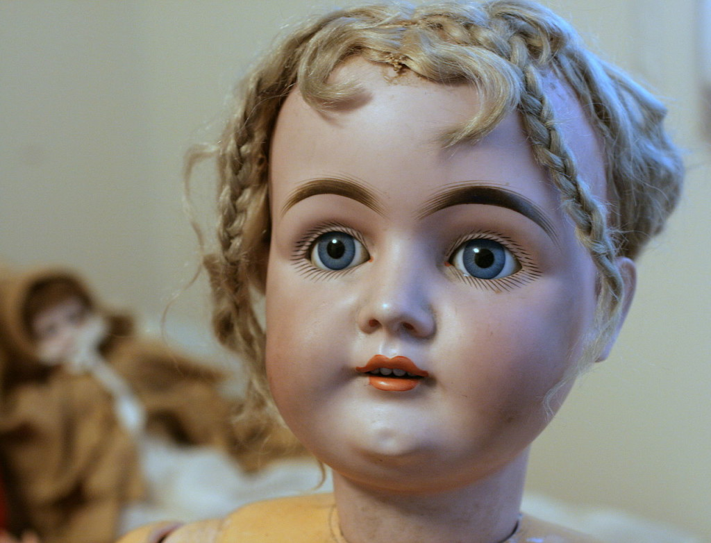 """German antique doll"" by gailf548 - originally posted to Flickr as German Doll. Licensed under CC BY 2.0 via Wikimedia Commons - http://commons.wikimedia.org/wiki/File:German_antique_doll.jpg#mediaviewer/File:German_antique_doll.jpg"