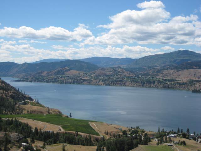 Skaha Lake bluffs