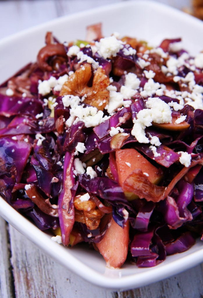 Photo credit: http://portandfin.com/warmed-red-cabbage-salad-with-walnuts-goat-cheese/